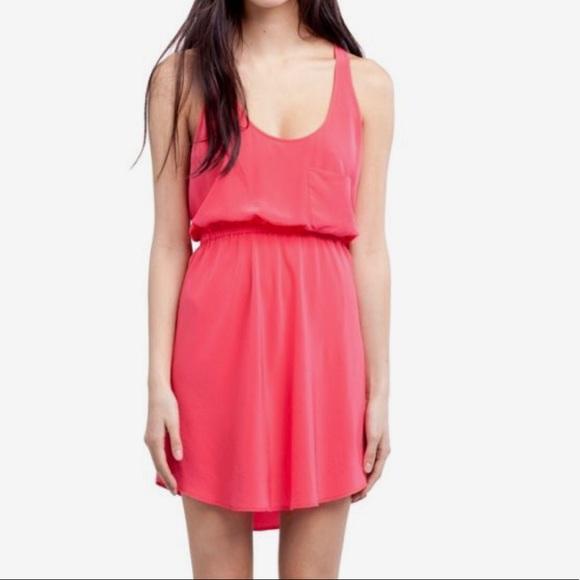 Aritzia Wilfred 100% Silk Victoire Open Back Dress